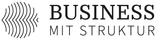 Business mit Struktur Logo